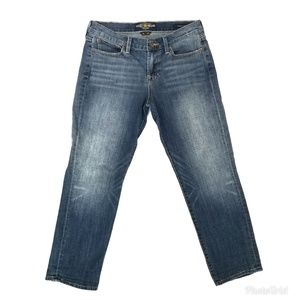 Lucky Brand Sweet Crop Medium Wash Whisked Jeans